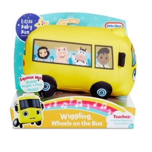 LITTLE TIKES Wiggling Wheels On The Bus NWT